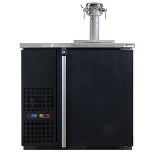 "Micro Matic 4 Keg Dispenser Micro Matic MDD36W-E-D 36 3/4"" 4 Keg Pro-Line Wine E-Series"