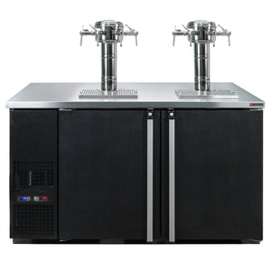 "Micro Matic 8 Keg Dispenser Micro Matic MDD58W-E-E 58"" 8 Keg Pro-Line Wine E-Series"
