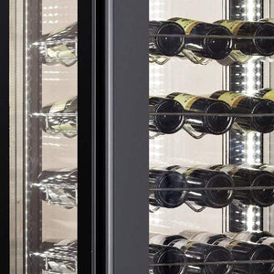 "Omcan  WC-CN-0400 Wine Cooler 81 Bottles 26"" Wide Single Zone with Open Glass Display - Omcan - 81 Bottles"