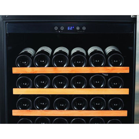 "Smith & Hanks RW428SR 24"" Wide 166 Bottle Signature Single Zone Wine Cooler RE100003 - Smith & Hanks - 166 Bottles"