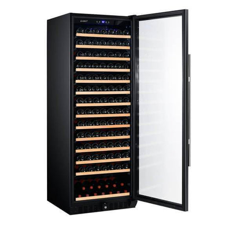 "Image of Smith & Hanks RW428SR 24"" Wide 166 Bottle Signature Single Zone Wine Cooler RE100003 - Smith & Hanks - 166 Bottles"