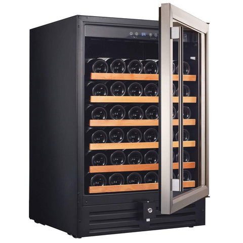 "Smith & Hanks RW145SRE 24"" Wide 46 Bottle Signature Single Zone Wine Cooler RE100001 - Smith & Hanks - 46 Bottles"