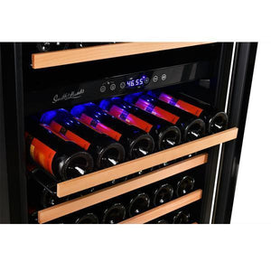 Smith & Hanks RE1000016 Wine Cooler 89 Bottle Stainless Trim Door Dual Zone - Smith & Hanks - Out Of Stock