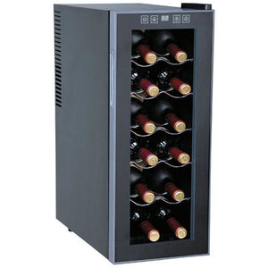 "SPT WC-1271 12 Bottles 10.25"" Wide Freestanding Thermo-Electric Wine Cooler - SPT - 12 bottles"