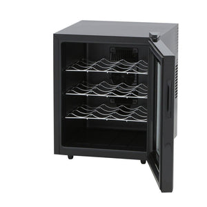 "SPT WC-1685H 16 Bottles 16.5"" Wide Freestanding Thermo-Electric Wine Cooler w/Heating - SPT - 16 bottles"