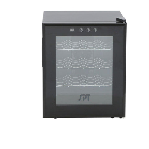 "Image of SPT WC-1685H 16 Bottles 16.5"" Wide Freestanding Thermo-Electric Wine Cooler w/Heating - SPT - 16 bottles"