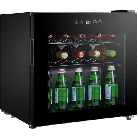 "Image of SPT WC-1686C 16 Bottles 19"" Wide Freestanding Thermo-Electric Wine Cooler - SPT - 16 bottles"