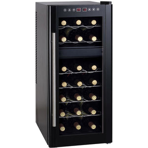 "SPT WC-2192DH 21 Bottles 14"" Wide Freestanding Thermo-Electric Wine Cooler w/ Heating - SPT - 21 Bottles"