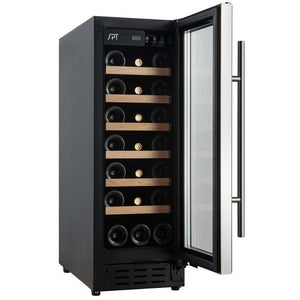 "SPT WC-2193W 21 Bottles 12"" Wide Single Zone Under Counter Wine Center Commercial Grade - SPT - 21 Bottles"