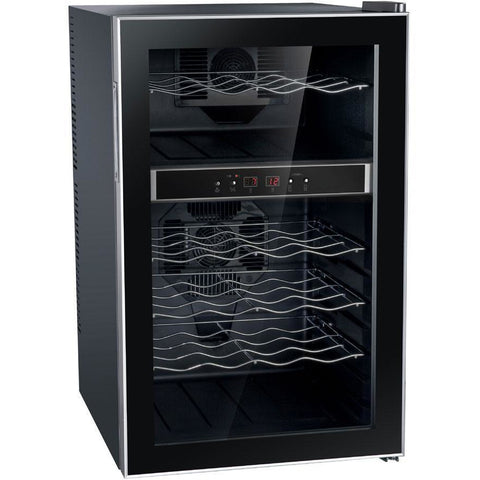 "Image of SPT WC-2462M 24 Bottles 18"" Wide Dual Zone Freestanding Thermo-Electric Wine Cooler - SPT - 24 Bottles"
