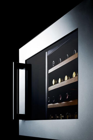 Image of Summit 28 Bottles Summit VC28S fully integrated wine cellar with digital controls and LED lighting 28 bottles