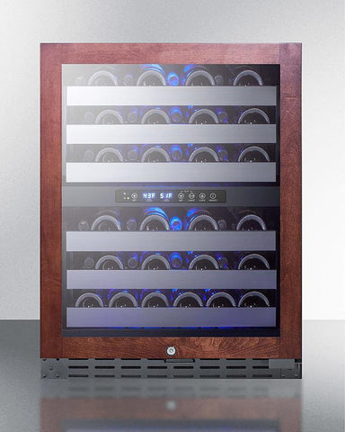 "Image of Summit 46 Bottles Summit ALWC532 Wine Cooler 46 Bottles 23.5"" Dual Zone"