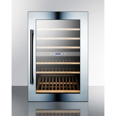 Summit VC60D fully integrated dual zone wine cellar with digital controls and LED lighting 51 bottle - Summit - 51 Bottles