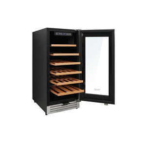 "Thor Kitchen Wine Cooler- 15"" Wide 33 Bottles Single Zone w/Lock & Sabbath Mode TWC1501 - Thor Kitchen - 33 Bottles"
