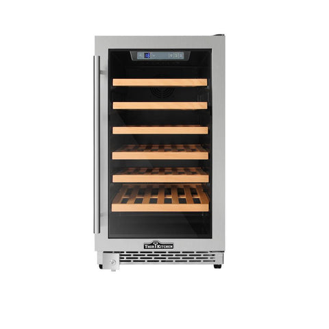 "Image of Thor Kitchen Wine Cooler- 18"" Wide 40 Bottles Single Zone HWC2405U - Thor Kitchen - 40 Bottles"