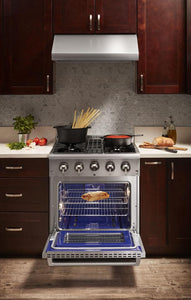 "Thor Kitchen Gas Range Thor Kitchen - 30"" Professional Gas Range"