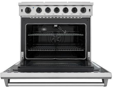 "Thor Kitchen Gas Range Thor Kitchen LRG3601U- 36"" Professional Gas Range"