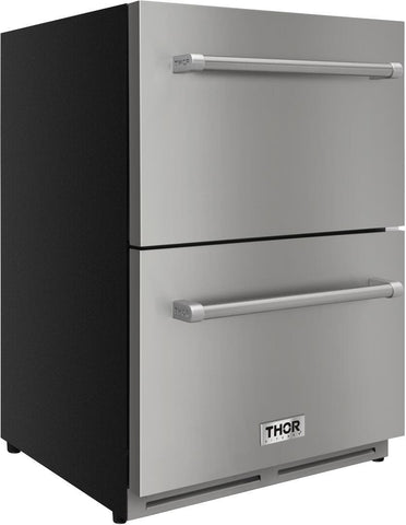 "Image of Thor Kitchen Out Door Refrigerator Thor Kitchen Outdoor Refrigerator TRF2401U- 24"" Wide"