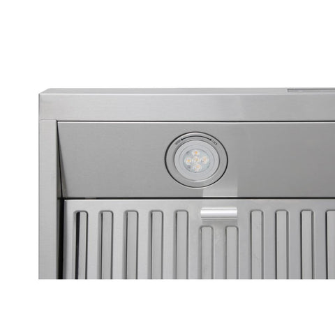 "Thor Kitchen Range Hood Thor Kitchen HRH3007 30"" Range Hood- Wall Mounted"