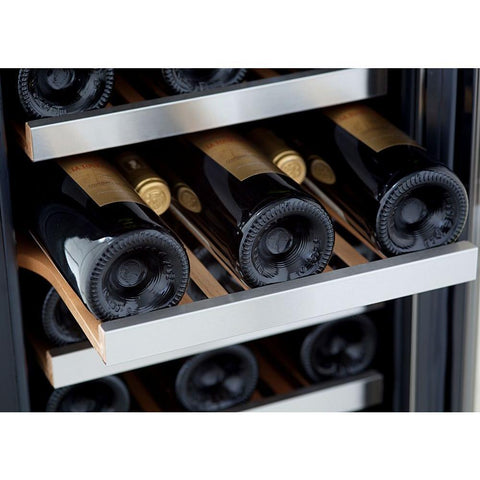 "Image of Whynter 19 Bottles Whynter Wine Refrigerator 33 Bottle 15"" Built-In Stainless Steel BWR-33SD"