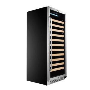 Whynter 100 Bottle Stainless Steel Freestanding Wine Cooler BWR-1002SD