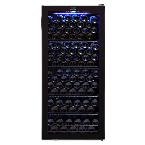 Whynter 124 Bottle Freestanding Wine Cooler FWC-1201BB - Whynter - 124 Bottles