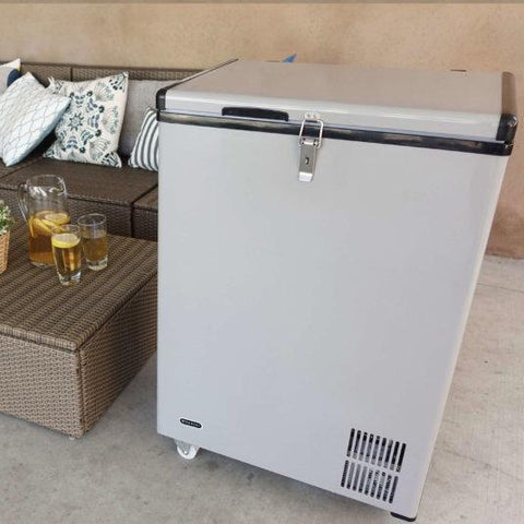 Image of Whynter 95 Quart Portable Wheeled Freestanding Wine Cooler FM-951GW - Whynter - Wine Freezer