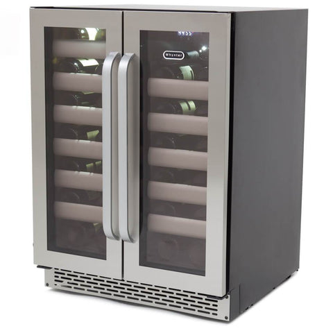 Whynter Elite 40 Bottle Dual Zone Refrigerator Wine Cooler BWR-401DS - Whynter - 40 Bottles
