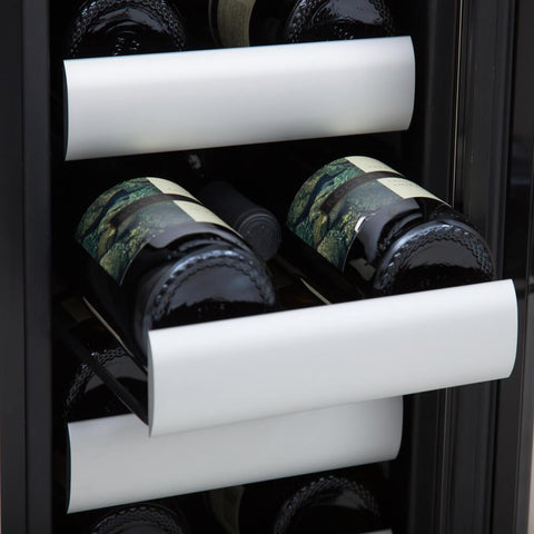 Image of Whynter Elite 40 Bottle Dual Zone Refrigerator Wine Cooler BWR-401DS - Whynter - 40 Bottles