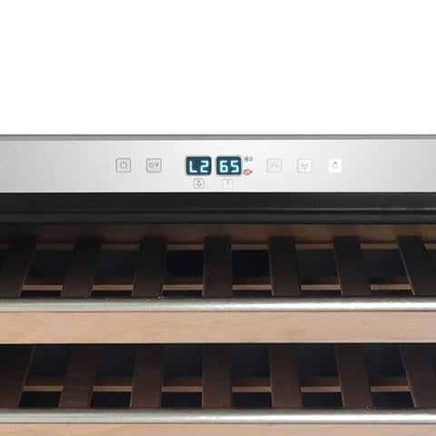 Whynter Elite 54 Bottle Spectrum Lightshow Built-in Wine Cooler BWR-545XS - Whynter - 54 Bottles