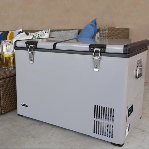Image of Whynter Wine Freezer Whynter 95 Quart Portable Wheeled Refrigerator Wine Cooler FM-951YW