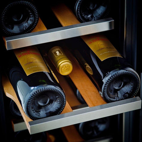 "Image of Wine Cooler Deals Whynter Wine Refrigerator 19 Bottle 12"" Built-In Stainless Steel"
