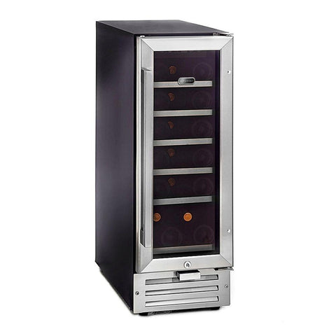 "Image of Wine Cooler Deals Whynter Wine Refrigerator 19 Bottle 12"" Built-In Stainless Steel BWR-18SD"