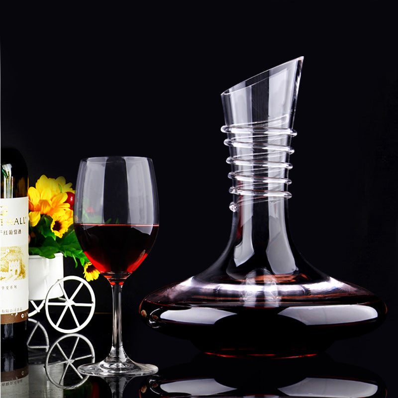 Wine Decanter Rose with cork stopper