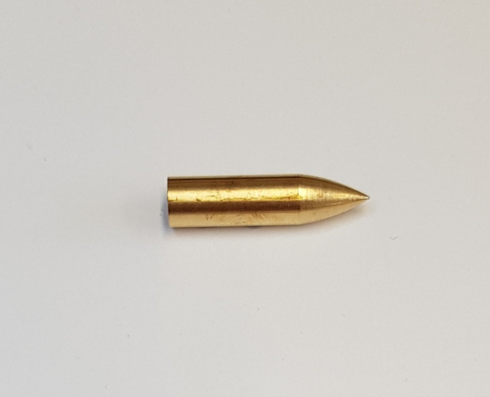 Brass Bullet Parallel Points - 9/32
