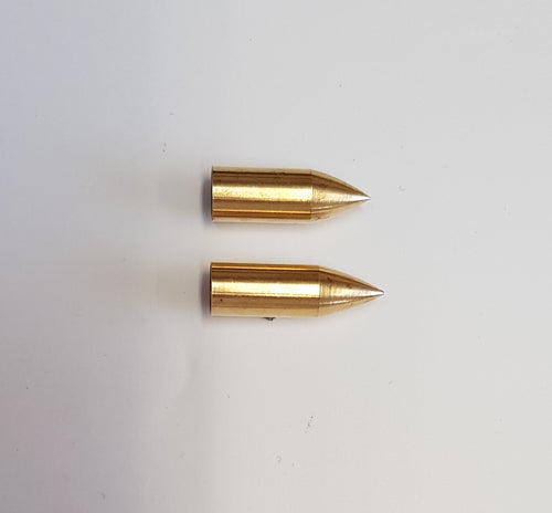 Brass Bullet Taper Points 9/32