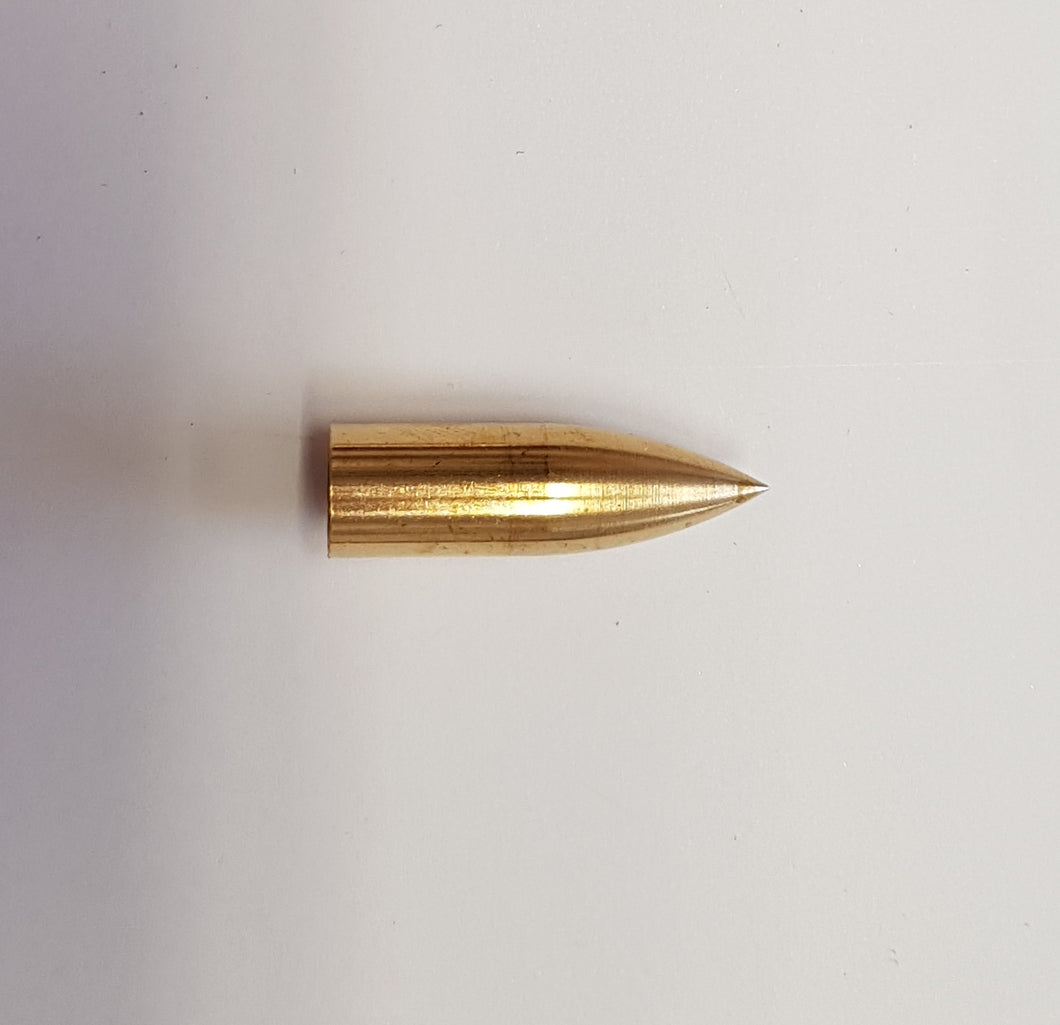 Brass Bullet Taper Points 11/32