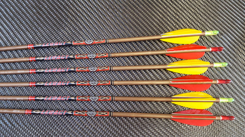 Easton XX75 Legacy Arrows x12