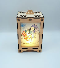 Load image into Gallery viewer, Penguin Christmas Lantern