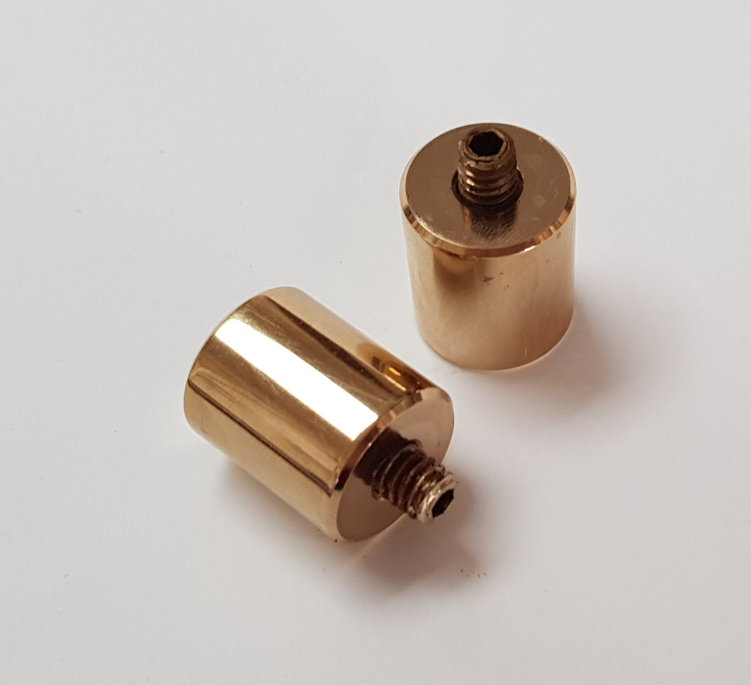 Gold Plated Mid Weights - 19mm - 45g