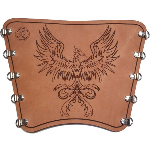 KG Leather Bracer - Phoenix
