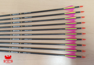 Easton ACC Arrows with EP Vanes x8