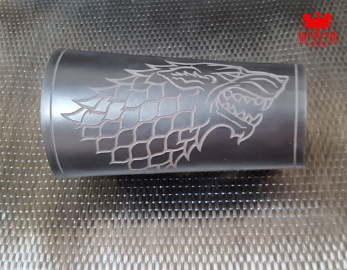 KG Leather Bracer - Dire Wolf