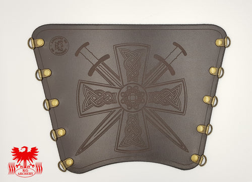 KG Leather Bracer - Celtic Cross (2)