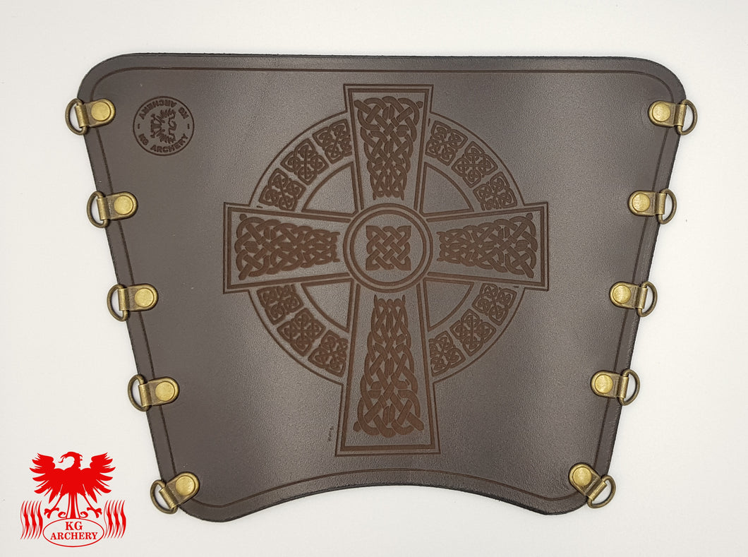 KG Leather Bracer - Celtic Cross (5)