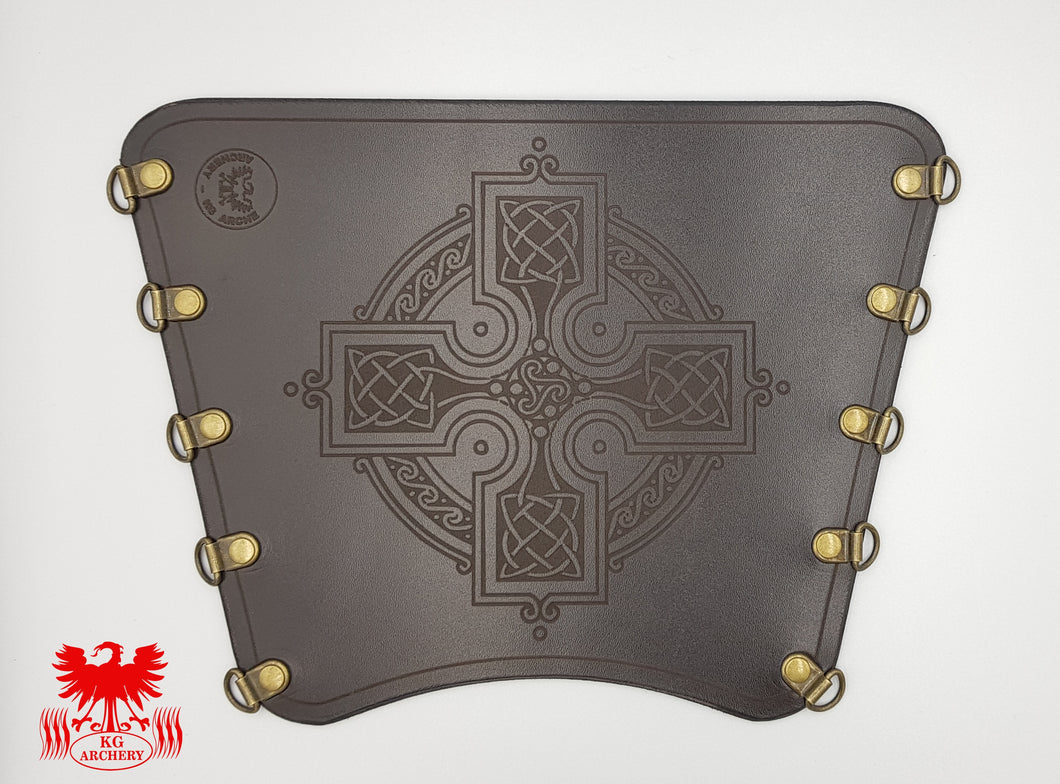 KG Leather Bracer - Celtic Cross (6)