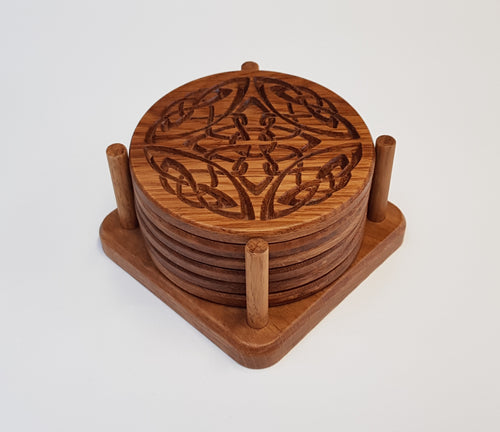 Oak Coasters - Celtic 1