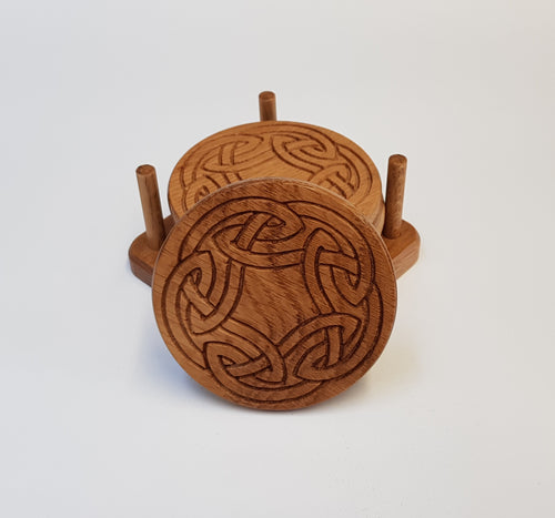 Oak Coasters - Celtic 2