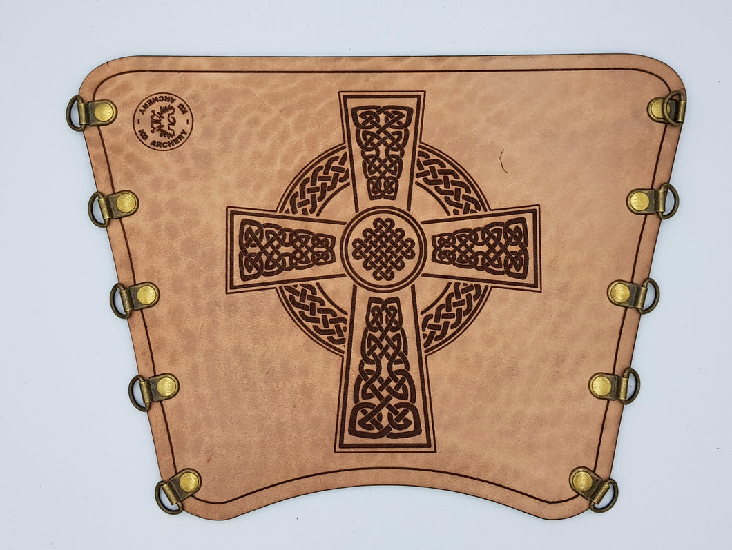 KG Leather Bracer - Celtic Cross (3)