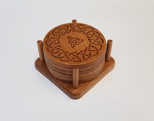 Oak Coasters - Celtic 3